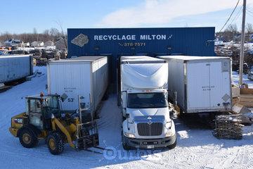 Recyclage Milton in Sainte-Cécile-de-Milton