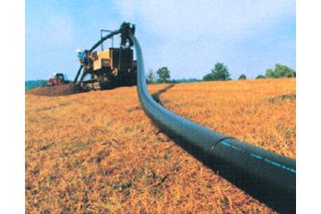 Dubois Agrinovation in Saint-Rémi: hdpe pipe