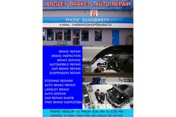 Langley Brake & Auto Repair | Free brake inspection Langley