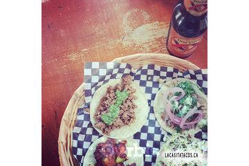 La Casita Tacos in Vancouver: Enjoying a late lunch at La Casita Tacos in West End Vancouver BC