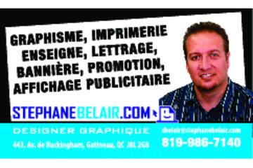 Stephane Belair Designer Graphique in Gatineau