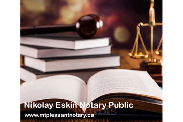 Nikolay Eskin Notary Public in Vancouver: Notary Public Vancouver