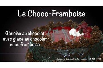 Crémerie Des Moulins in Terrebonne: Gâteau choco-framboise