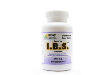 Westcoast Naturals in Richmond: I.B.S. Support 500 mg 90 caps