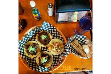 La Casita Tacos in Vancouver: Tacos and churros mmmm at La Casita Tacos in West End Vancouver BC