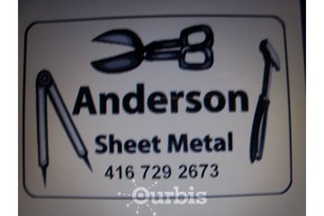 Anderson Sheet Metal 416 729 2673 in Mississauga