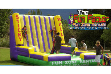Fun Zone Party Rentals in Kamloops: Velcro Sticky Wall