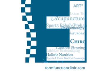 Form & Function: Health, Performance, Wellness, Centre in brampton: Logo