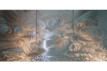 Gossamer Steel Custom Metal Work in Vancouver: aluminum wall art panels
