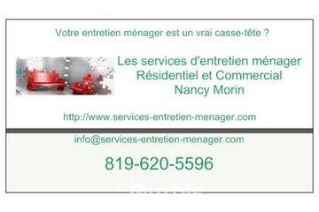 Les services d'entretien ménager Nancy Morin