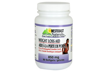 Westcoast Naturals in Richmond: Weight Loss Aid (C.L.A.) 850 mg 90 sftg