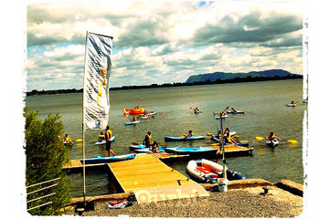 Centre nautique Gervais-Désourdy à Chambly: Initiation au kayak de plaisance pour un groupe de camp de jour
