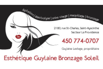 Esthetique Guylaine Bronzage Soleil Enr