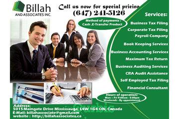 Billah and Associates Inc
