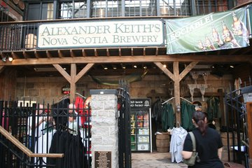 Alexander Keith's Nova Scotia Brewery in Halifax
