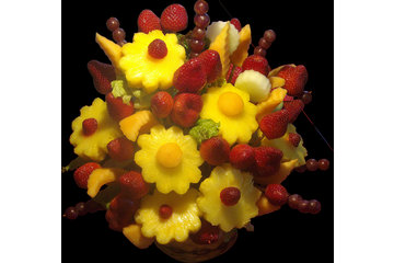 #1 Blossoms Fresh Fruit Arrangements