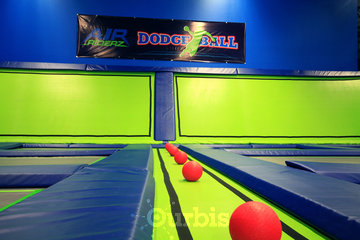 Air Riderz Trampoline Park in Mississauga: Dodge Ball