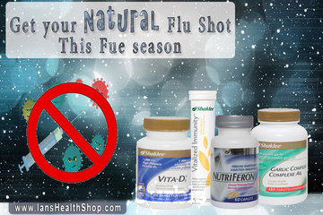 Shaklee Independent Distributor - Ian Paquette à calgary: Natural Flu Shot