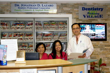 Dentistry @ Pickering Village in Ajax: Dentistry @ Pickering Village Reception
