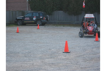 Four Seasons Driver Education Inc in Chatham: buggy obstacle course