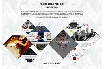 Boutique Websites in MIssissauga: wedding planner website design
