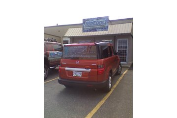 MC Auto Tint in Nanaimo: Perforated Window Prints