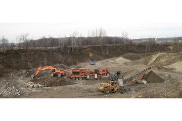 Excavation Charly à Huntingdon: 2