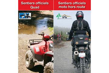 TrakMaps à Dorval: Sentiers officiels Quad et Moto hors route