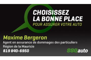 Maxime Bergeron, agent en assurance de dommages des particuliers affilié à SSQauto