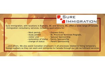 Sure Immigration Ltd in Burnaby