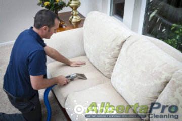AlbertaPro Cleaning in Calgary: Leather & Fabric Upholstery Cleaning
