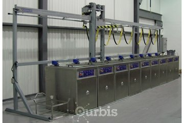 Conceptech I N D Inc à Terrebonne: Fully Automatic cleaning line