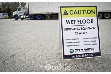 City Wide Environmental Cleaning à surrey: Citywide Caution Sign Surrey, BC, Canada