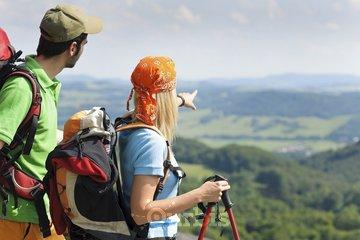 Camping Choisy à Rigaud: sentier l'escapade mont rigaud