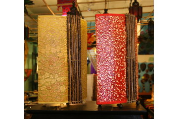 Pachmina in Montréal: Lampe indonesienne , rottin , bamboo , ...
