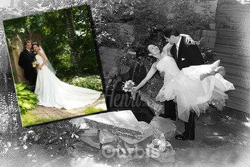Photographe Studio Henri Inc in Québec: Photo de mariage