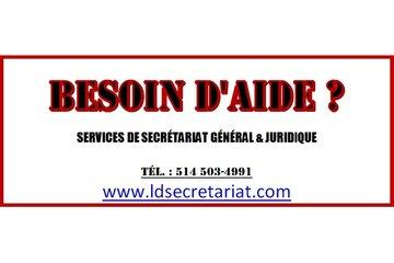 Services de secrétariat LD