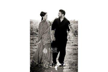 Kaur Couture in Surrey: Harmeet in her Pre-wedding shots,Ghagra designed by Bir Kaur Dhillon of Kaur Couture.