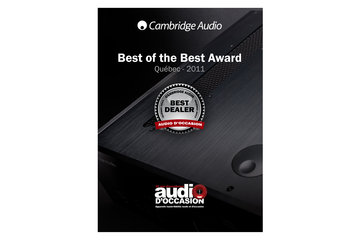 Audio D'Occasion à Montréal: Best Cambridge Audio Dealer Quebec 2011