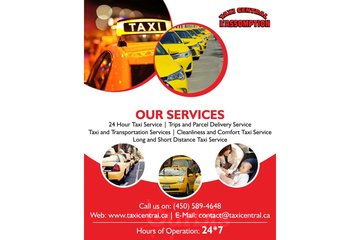 24 Hour Taxi Service in L'Assomption | Taxi Central L'Assomption