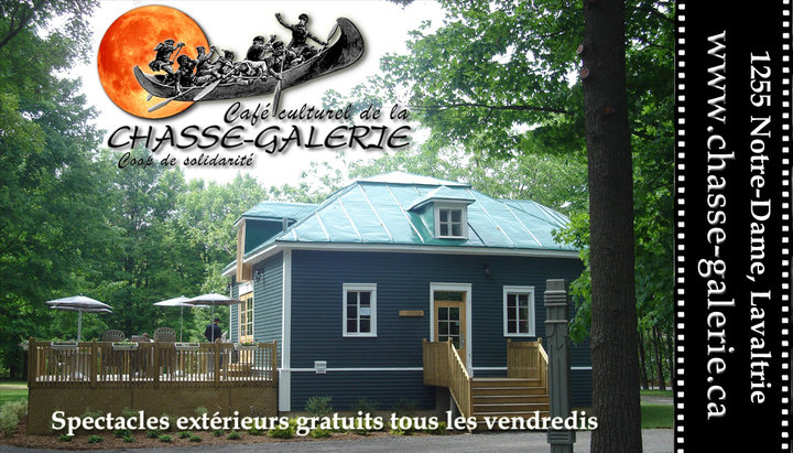 Caf culturel la chasse galerie lavaltrie qc ourbis for Rue de la cuisine chasse sur rhone