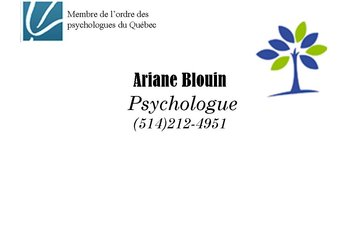 Ariane Blouin psychologue