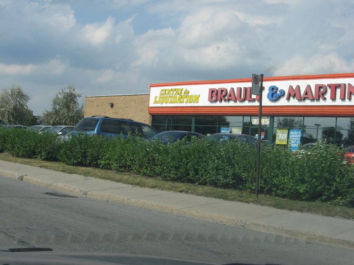 Brault et martineau centre de liquidation pointe aux trembles for Centre de liquidation de meubles montreal
