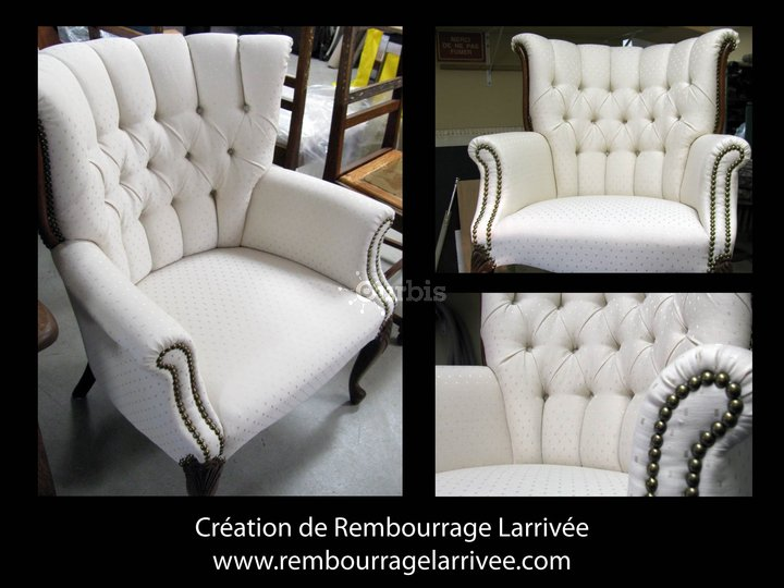 Rembourrage larriv e lt e saint eustache qc ourbis for Domon furniture st eustache