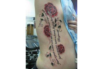 Sin on Skin Tattoo Studio in Halifax: amazing rib tattoo by Lacey at Sin on Skin