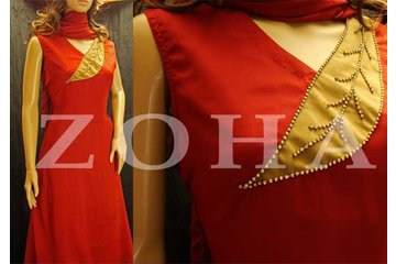 ZOHA South Asian Boutique in Mississauga: Scarlet leaf