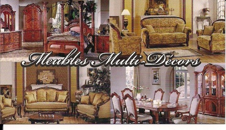 Meubles multi d cor montr al qc ourbis for Boutique meuble montreal
