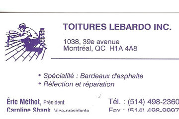 Toitures Lebardo Inc à Montréal