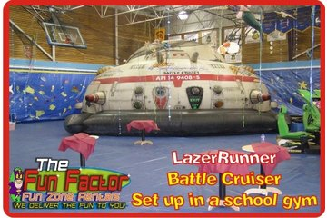 Fun Zone Party Rentals in Kamloops: Inflatable Laser Tag