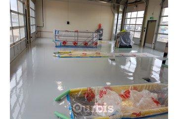 JKO Coatings & services in calgary: Lube Shop Floor Coating